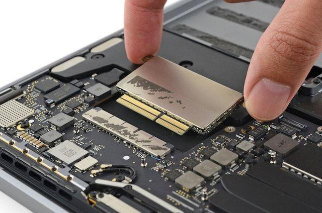 15-дюймовые MacBook Pro 2016 года оснащены очень быстрыми SSD