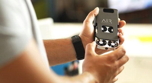 AirSelfie - компактный дрон для селфи-съемок