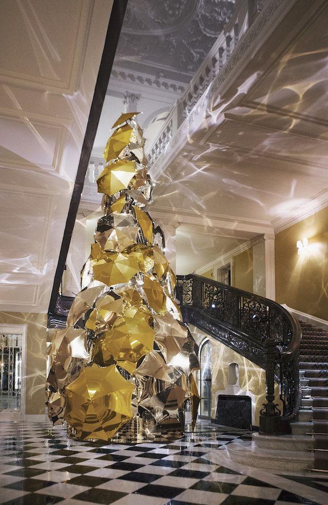 Burberry Christmas Tree, Claridges 2015