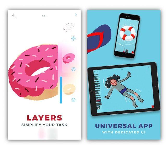 Tayasui Sketches Pro для iPhone и iPad