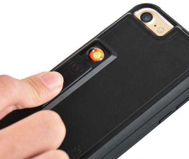 ZVE Lighter Case - чехол для iPhone с открывалкой, зажигалкой
