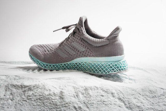 кроссовки Adidas, созданные из отходов