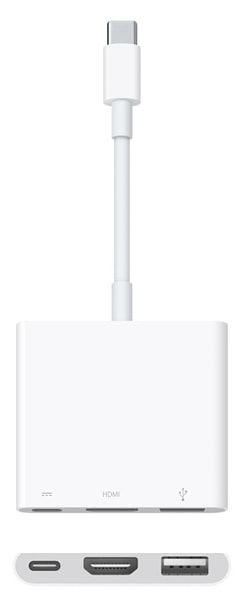 многопортовый цифровой AV-адаптер USB-C