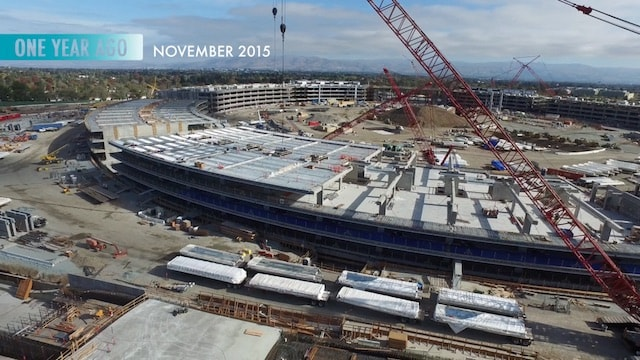 apple campus 2 в 2015 году