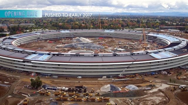 apple campus 2 в 2016 году