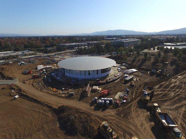«Космический» кампус Apple