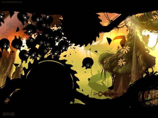 Игра Badland для iPhone, iPad и Apple TV