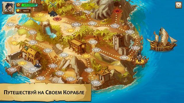 Обзор игры Braveland Pirate для iPhone и iPad - увлекательная стратегия по мотивам King's Bounty