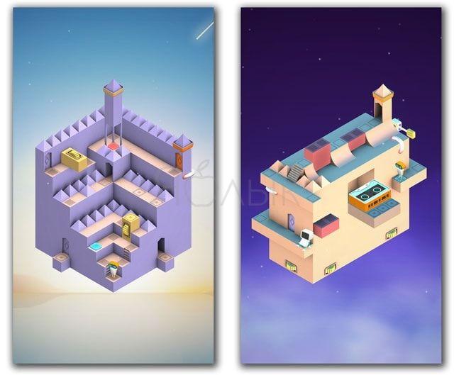 Головоломка Evo Explores для iPhone и iPad - украинский клон Monument Valley