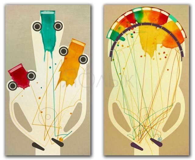 Обзор игры INKS для iPhone и iPad - новый взгляд на пинбол от создателей Lumino City