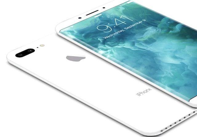 iPhone 8 стеклянным