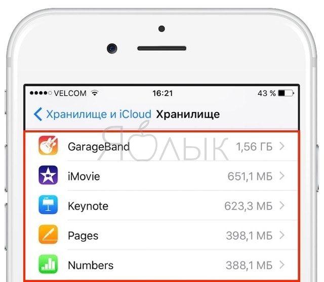 Как освободить 3 ГБ памяти на iPhone и iPad с накопителем от 32 Гб