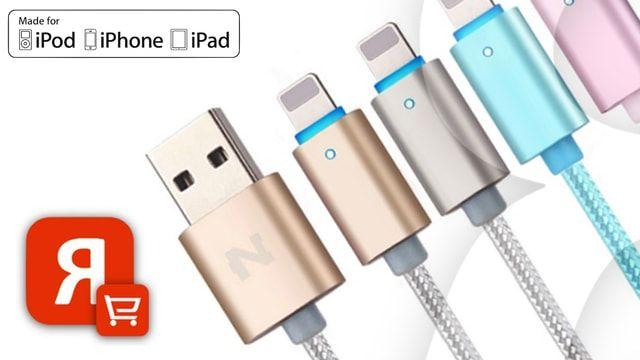 Joyroom, NOHON и NILLKIN – MFI Lightning-кабели для iPhone и iPad