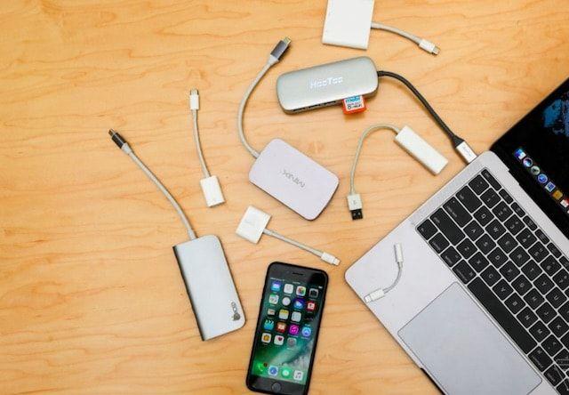 macbook iphone adapter