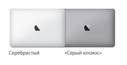 Цвета MacBook Pro 2016