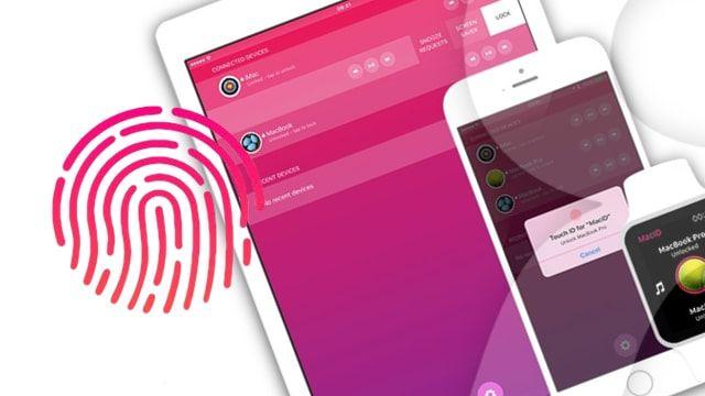 MacID - разблокировка Mac при iPhone или iPad