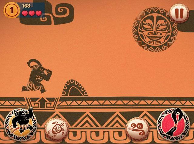 Moana: Rhythm Run - игра по мотивам анимационного фильма от компании Disney, мировая премьера которого состоялась 14 ноября нынешнего года. Новинка доступна только для iPhone и iPad. Проект представляет собой смесь раннера и ритм-игры с элементами экшена. В Moana: Rhythm Run игрокам предстоит помочь дочери вождя маленького племени на одном из островов в Тихом океане Моане в непростом поиске утерянного сердца богини Те Фити. Вместе с легендарным полубогом Мауи девушка отправится в опасное морское путешествие, где героев ждут встречи с пиратами и сражения с различными чудовищами. Все действо происходит под сопровождение музыкальных композиций из одноименного фильма. Геймплей игры довольно прост: Моана или другой персонаж игры бежит вперед автоматически, игрок контролирует прыжки и помогает герою преодолевать препятствия, нажимая на кнопки в соответствии с музыкальным ритмом. В общей сложности Moana: Rhythm Run включает 70 уровней, действие которых разворачивается как на суше, так и на океанских просторах. Несмотря на то, что в названии игры указано только имя Моаны, девушка не единственный играбельный персонаж. В числе героев присутствуют полубог Мауи, смешной петух Хей-Хей, поросенок Пуа и другие персонажи мультфильма. Moana: Rhythm Run - отличный проект, обладающий великолепным визуальным стилем в духе компании Disney.