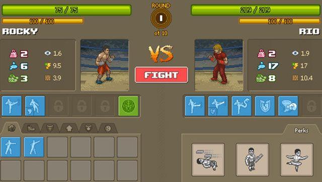 Punch Club для iPhone и iPad - симулятор бойца в стилистике американских боевиков 80-х годов