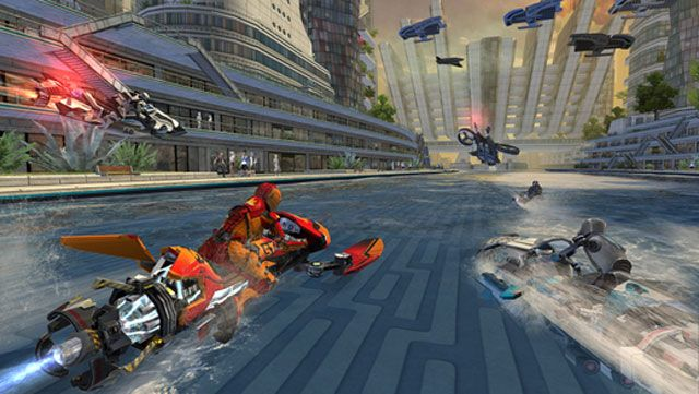 Обзор игры Riptide GP: Renegade для iPhone и iPad — погрузитесь в мир головокружительных гонок на гидроциклах