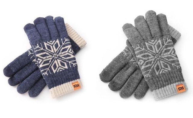 Перчатки Xiaomi Wool Touch Gloves