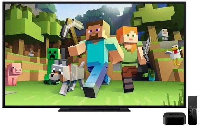 Minecraft для Apple TV