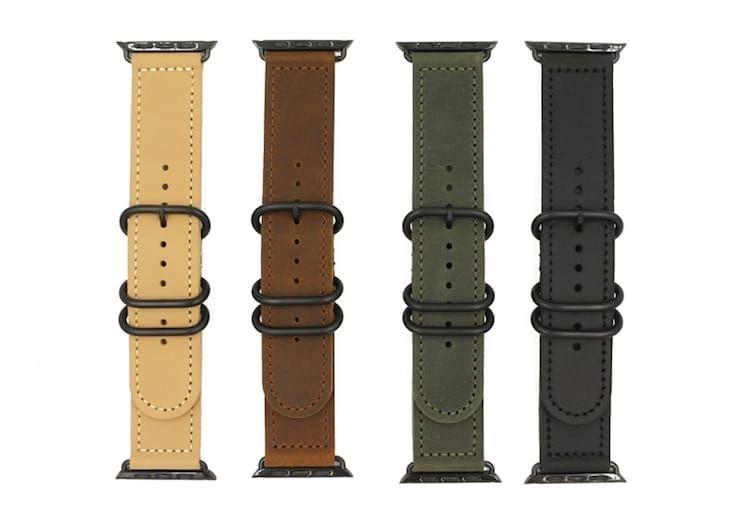 Ремешок из натуральной кожи для Apple Watch