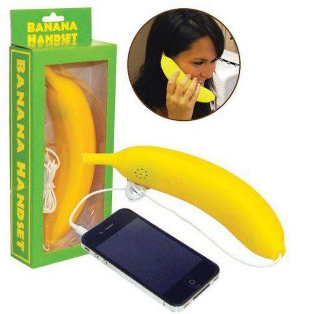 Трубка в виде банана