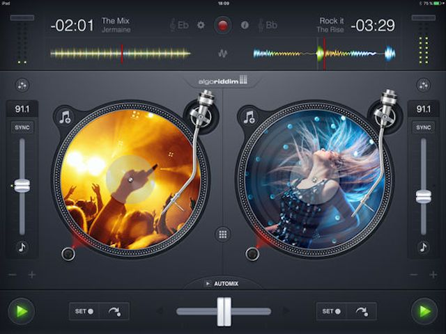 djay 2 для iPad и iPhone - мощное приложение для ди джеев