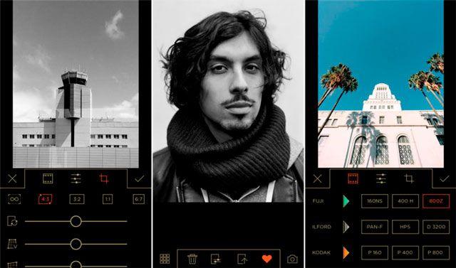 Filmborn - отличный эмулятор фотопленки для iPhone и iPad