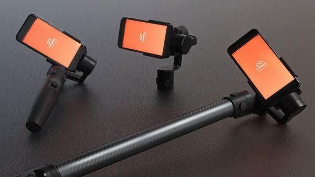 FlowMotion One - уникальный стабилизатор для смартфона с набором интересных функций