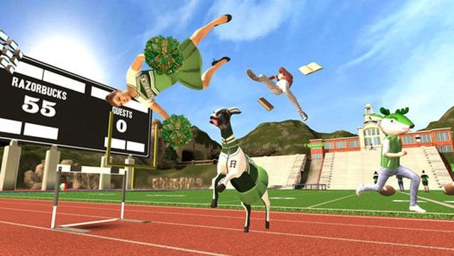 Игра Goat Simulator для iPhone и iPad - самый безболезненный способ почувствовать себя козлом