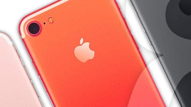 Цвета iPhone 8 пополнятся моделью красного цвета