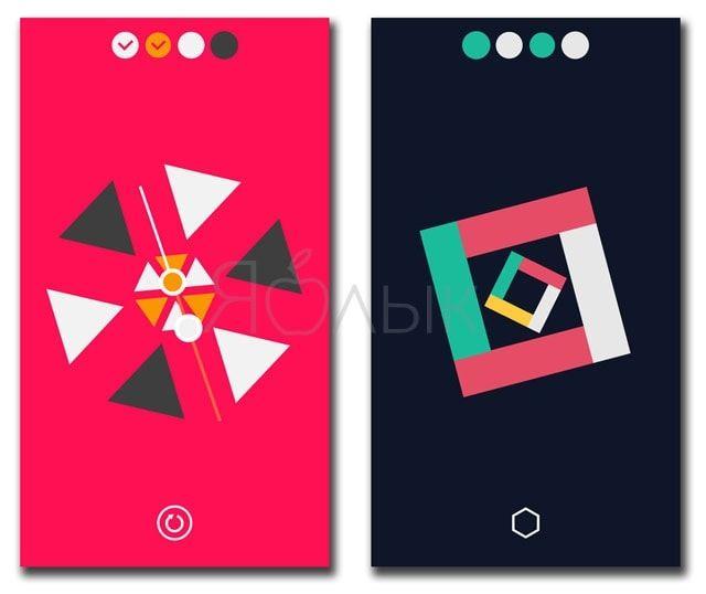 Обзор Linia для iPhone и iPad - расслабляющая головоломка с уникальным геймплеем