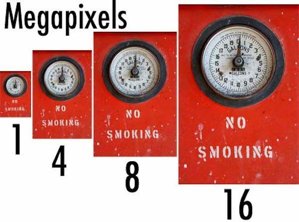 Количество мегапикселей