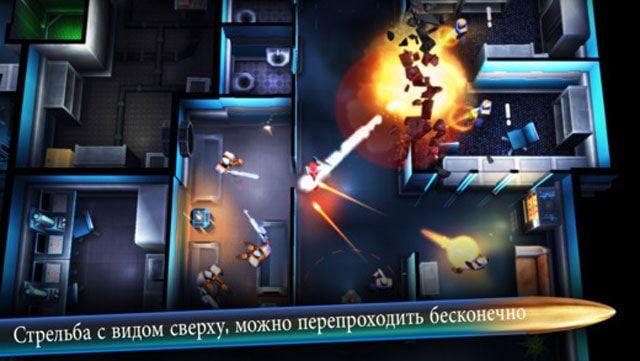 Игра Neon Chrome для iPhone и iPad - увлекательный шутер с элементами rogue-like
