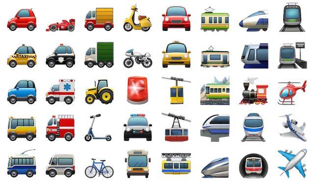 Новые Эмодзи в iOS 10.2