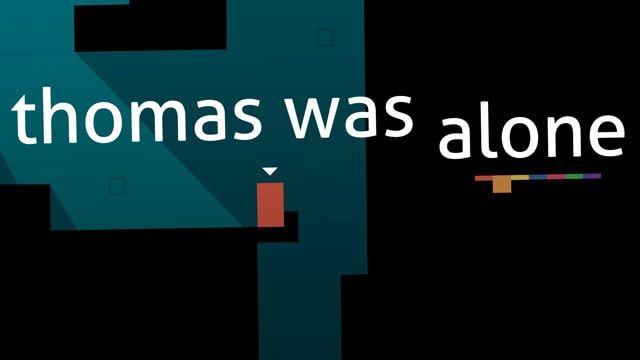 Игра Thomas Was Alone - пронзительная притча о дружбе, одиночестве и жажде свободы