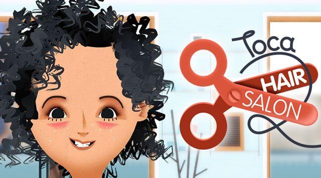 Игра Toca Hair Salon 2 - виртуальная парикмахерская для iPhone и iPad