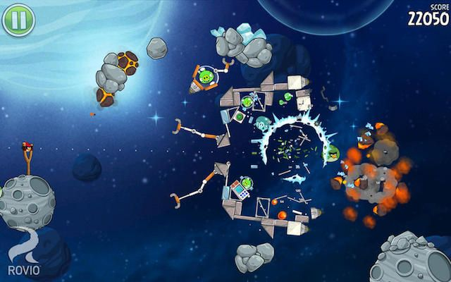 Angry Birds Space для iPhone и iPad