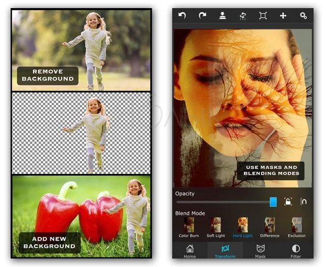 Приложение Superimpose для iPhone и iPad