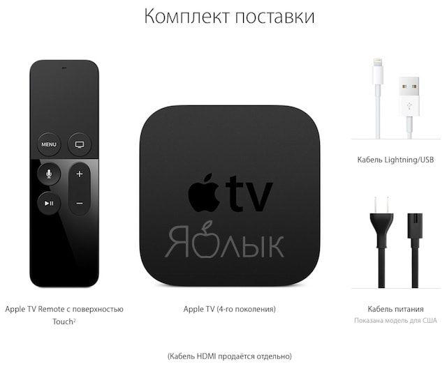 Комплект Apple TV