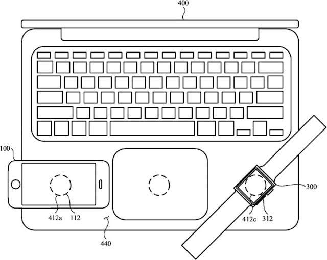 Беспроводная зарядка iPhone через MacBook