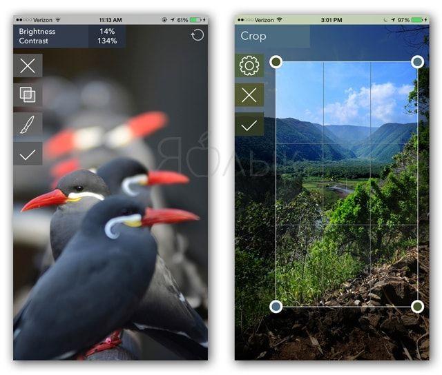 Приложение Filterstorm Neue для iPhone и iPad