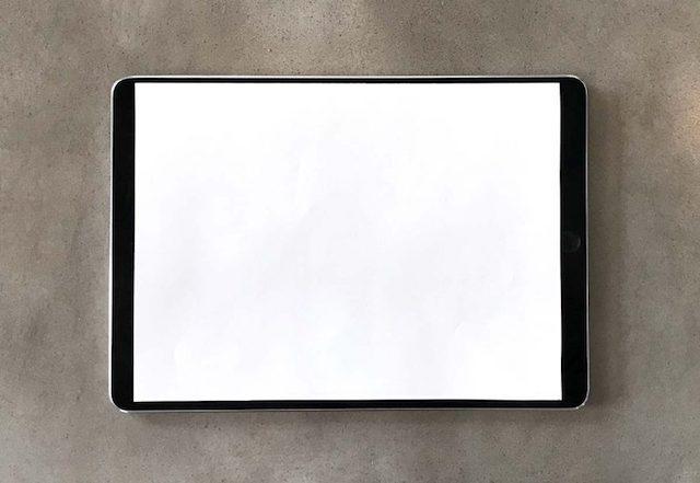 «безрамочный» iPad