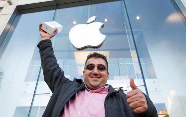 Покупатель iPhone