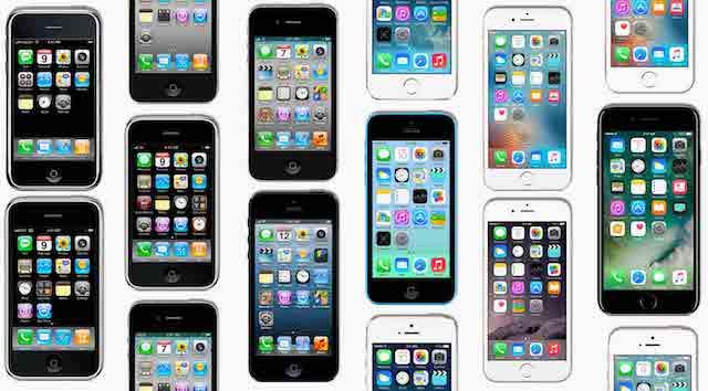 10 лет развития iPhone