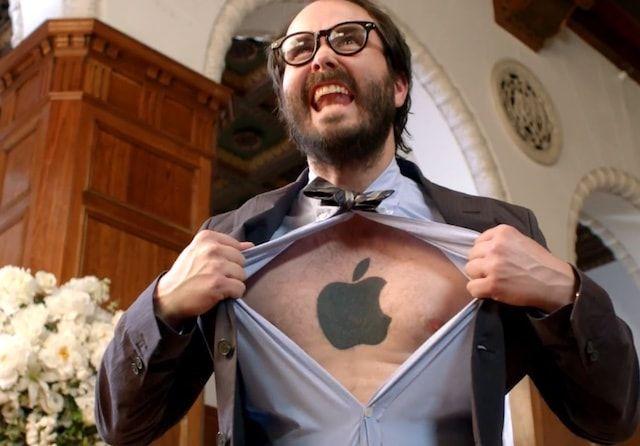 Apple фанат пользователь iPhone