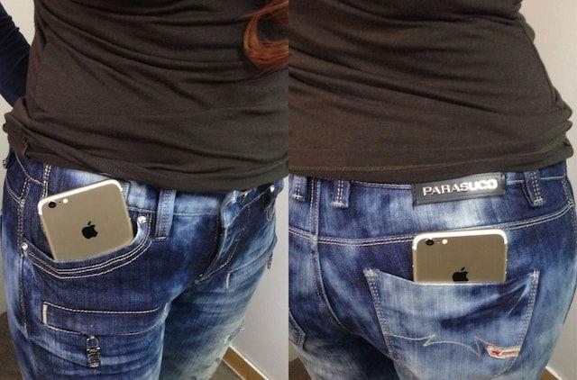 iPhone 7 в карманах