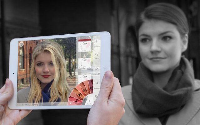 ModiFace Live для iPhone и iPad