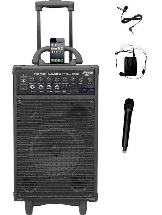 Pyle PWMA1090UI беспроводная и портативная акустическая система для iPhone